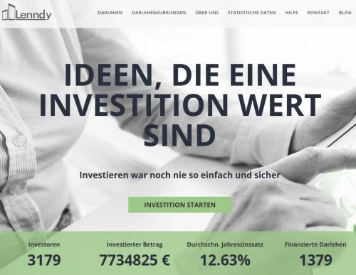 Lenndy Webseite