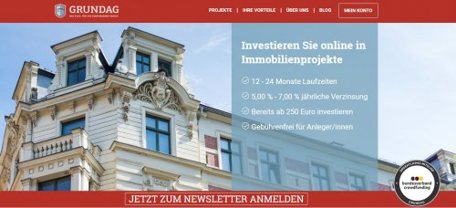 Immobilien Crowdinvesting Grundag Head