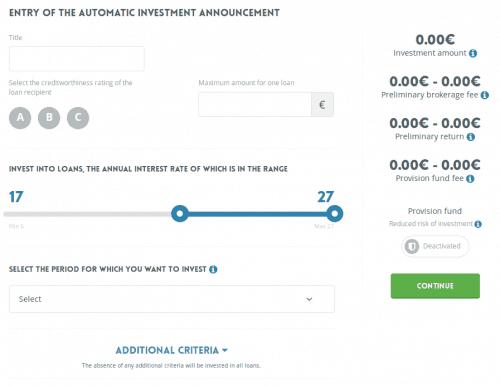 Der Autoinvestor von NEO Finance