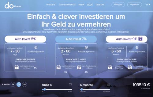 Startseite dofinance p2p kredite