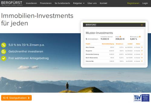 Bergfürst Immobilien Crowdinvesting