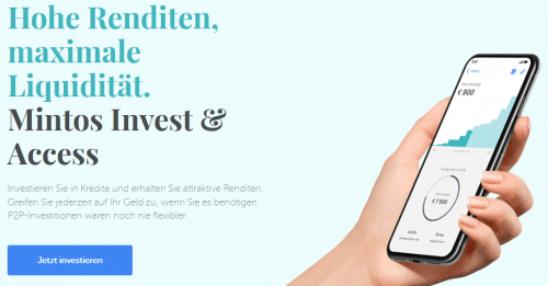Invest und Access von Mintos - automatisch investieren in P2P-Kredite